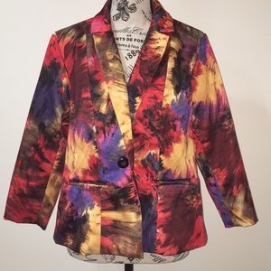 New Directions | Multicolored Blazer Jacket